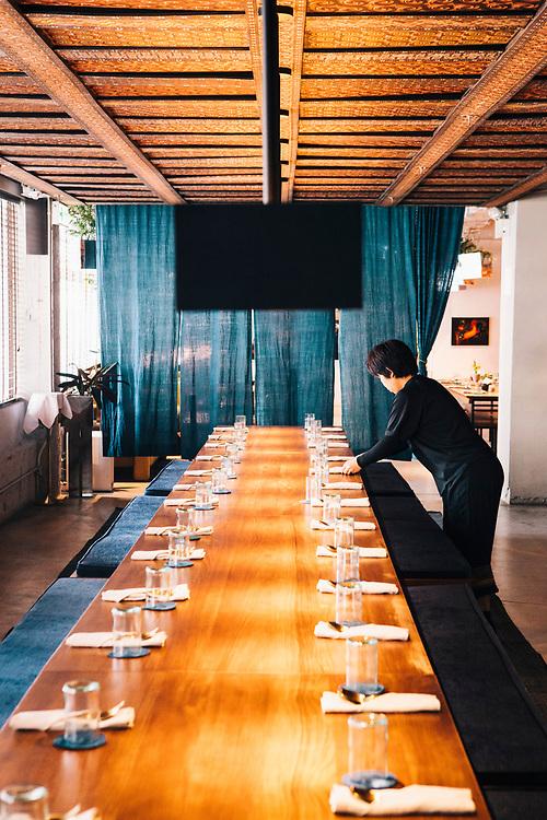 Kaum restaurant at Potato Head Hong Kong