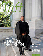 Connecticut Supreme Court Justice Fleming L. Norcott, Jr. photographed for Taft Magazine. (Photo by Robert Falcetti)