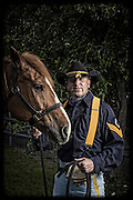 Aaron Campanella and Hammer<br /> <br /> 1st Cavalry Division Horse Cavalry Detachment photos by Stacy L. Pearsall