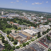 Helicopter Ride over Ohio State Campus - June 2010