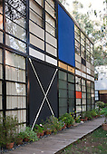 The Eames House or Case Study House No. 8, by Charles and Ray Eames Los Angeles, California