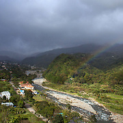 The town of Boquete, Panama.