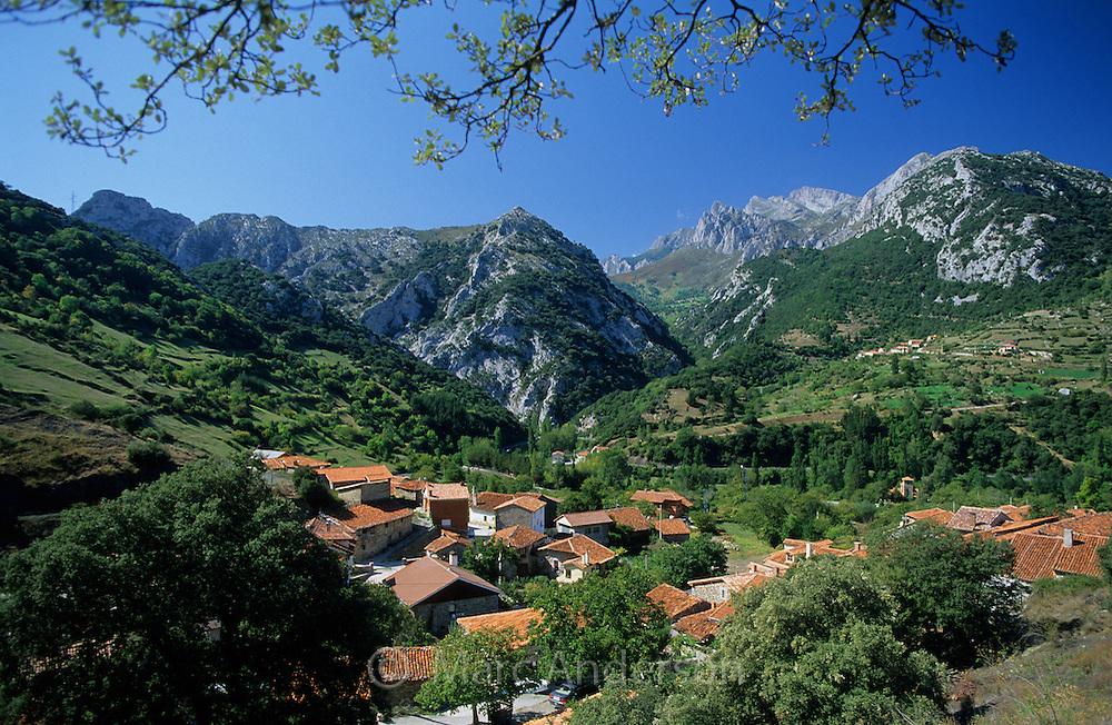 Lebeña, a rural village in the foothills of the Picos de Europa, Cantabria, Spain