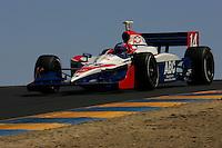 Jeff Bucknum at Infineon Raceway, Argent Mortgage Indy Grand Prix, August 28, 2005