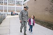 Military Children for Washington Post Magazine
