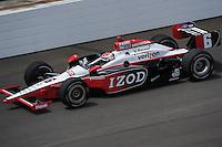 Ryan Briscoe, Indianapolis 500 practice, Indianapolis Motor Speedway, Indianapolis, IN USA 5/14/2011-5/29/2011