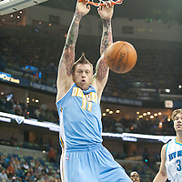 DENVER NUGGETS VS NEW ORLEANS HORNETS 03.13.2011