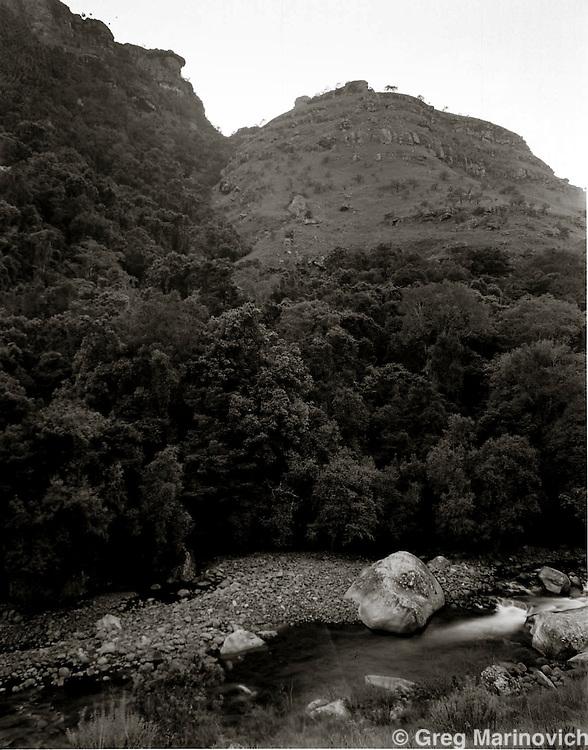 tThe river that leads into Lake Fundudzi, sacred lake of the Venda. Greg Marinovich