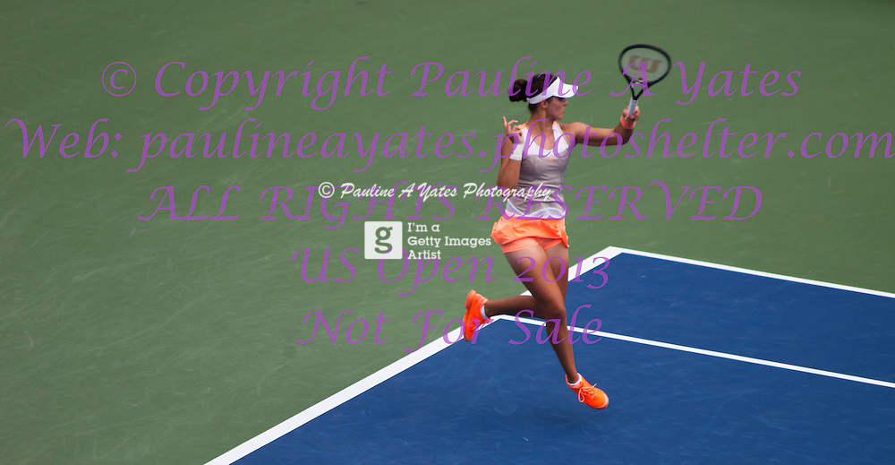 Laura Robson at the US Open on Friday 30th August 2013. Beaten by Li Na