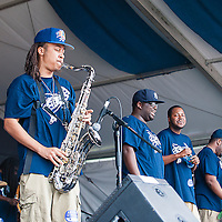 Young Pinstripe Brass Band, New Orleans Jazz & Heritage Foundations 2013