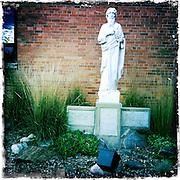 Statue of St. Paul of Tarsus. (Sam Lucero photo)