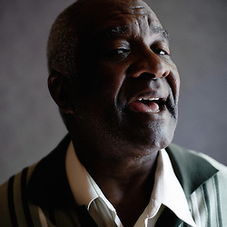 Tribe's Wendell Harrison from Detroit, the day they were playing at the occasion of Jazz a la Villette. Paris, France. 10 September 2009. Photo: Antoine Doyen for Vibrations