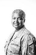Diane E. Johnson<br /> Air Force<br /> E-7<br /> Chaplain Assistant <br /> OEF, Kuwait, Guam<br /> May 1976 - Jan. 2012<br /> <br /> Veterans Portrait Project<br /> Philadelphia, PA