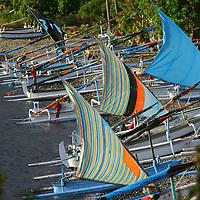 Indonésie. Pêche traditionnelle. .