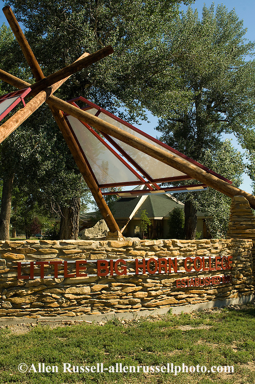 Little Big Horn College, Crow Agency, Crow Indian Reservation, Montana