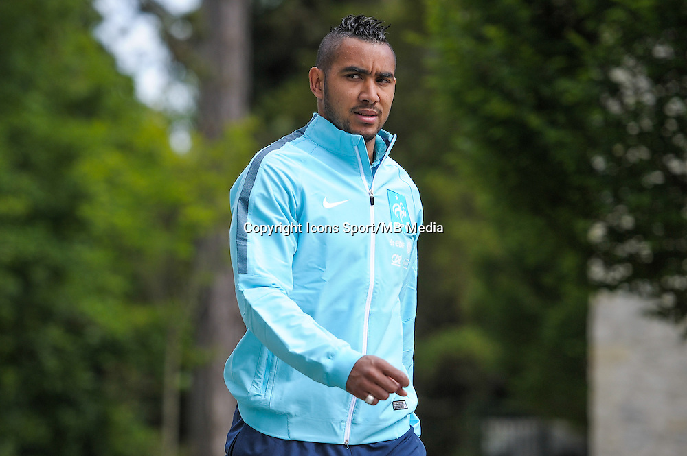 Dimitri Payet - 01.06.2015 - Entrainement - Equipe de France - Clairefontaine<br />