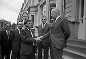 1967 - Ulster Farmers Union meet National Farmers Association at N.F.A. House