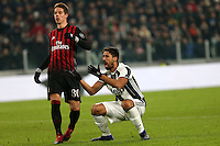 can - 25.01.2017 - Torino - Coppa Italia Tim  -  Juventus-Milan nella  foto: Sami Khedira si dispera