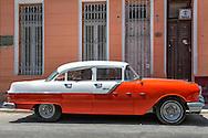 Car in Havana Centro, Cuba.