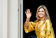 Koningin Máxima reikt donderdagochtend 21 mei de Appeltjes van Oranje 2015