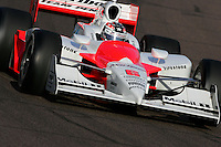 Sam Hornish Jr. at the Phoenix International Raceway, XM Satellite Radio Indy 200, March 19, 2005