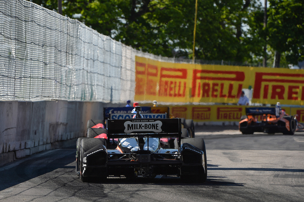 Tony Kanaan, The Raceway at Belle Isle Park, Detroit, MI USA 6/1/2014