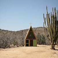 La Candelaria, a Desert Oasis and Pottery Village in Baja California Sur, Mexico