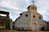 Church in Mayari, Holguin, Cuba.