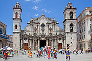 Catedral de San Cristóbal de La Habana, Havana Vieja, Cuba.