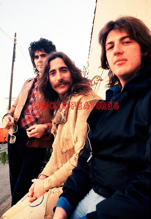 Three Dog Night 1971 Danny Hutton, Chuck Negron and Cory Wells.© Chris Walter.