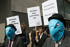 APR 24 2014 Barclays Annual General meeting protest