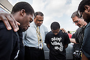 Comforting the afflicted in Ferguson