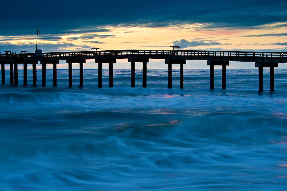 Spring dawn at the fishing pier st augustine florida for St augustine fishing pier