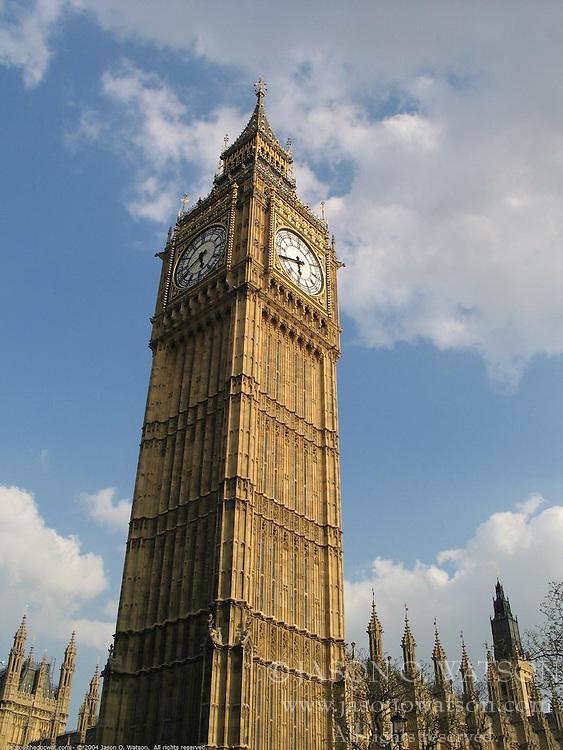 Big Ben, Parliament Building, London, England, United Kingdom