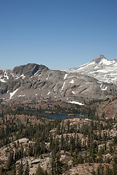 """Susie Lake 3"" - Photograph of Susie Lake in the Tahoe Desolation Wilderness."