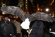 """American Bald Eagle '' Challenger """"  at The Life Project for Africa Benefit for the NJIA Health Center in Tanzania, Africa and held at Ben and Jack's Restaurant on November 10, 2009 in New York City"""