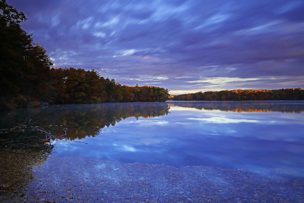 Experienced a katahum sunrise and morning the other day at Lake Cochituate. This urban lake borders the Boston suburbs Natick, Wayland and Framingham and is part of the Cochituate State Park in Massachusetts. There was still fall foliage colors to experience. The early morning light raw a beautiful light on this New England nature scenery, coloring it in glorious colors and hues. I love experience the quietude that comes with an early morning photo outing and needed it that morning. <br /> <br /> Lake Cochituate sunrise photography images are available as museum quality photography prints, canvas prints, acrylic prints or metal prints. Prints may be framed and matted to the individual liking and room decor needs:<br /> <br /> http://juergen-roth.pixels.com/featured/katahum-juergen-roth.html<br /> <br /> Good light and happy photo making! <br /> <br /> My best, <br /> <br /> Juergen <br /> Image Licensing: http://www.RothGalleries.com <br /> Fine Art Prints: http://fineartamerica.com/profiles/juergen-roth.html <br /> Photo Blog: http://whereintheworldisjuergen.blogspot.com <br /> Twitter: https://twitter.com/naturefineart <br /> Facebook: https://www.facebook.com/naturefineart <br /> Instagram: https://www.instagram.com/rothgalleries