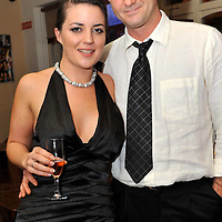 -FREE PICTURE / NO REPRODUCTION FEE-.Pictured at the annual Black and White Ball in the Blue Haven Hotel, Kinsale were Emily Acton, Kinsale and Alan Murray, Union Hall..Pic. John Allen
