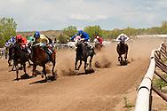 Quarter Horse Racing at Miles City, Montana