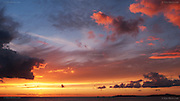 Incredible sunset and dramatic clouds over the Irish Sea from Porth Nobla, near Rhosneigr, West Anglesey<br /> <br /> &copy; Glyn Davies - All rights reserved.