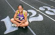 Tambra Isles of Jackson High. Athlete of the week.