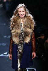 FEB 10 2013 Diane von Furstenberg show at New york Fashion Week A/W 2013