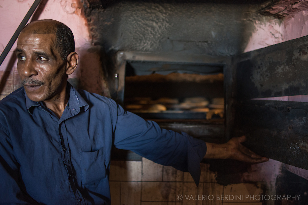 A social bakery in Casablanca where families bring their own bread to be cooked in a communal oven.