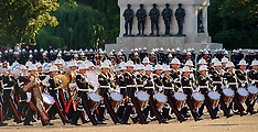JUN 04 2014 490 Marines conduct the largest ever Beating Retreat