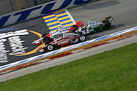 Scott Dixon, Tony Kanaan, Sam Hornish Jr., Meijer Indy 300, Kentucky Speedway, Sparta, KY USA, 8/13/2006