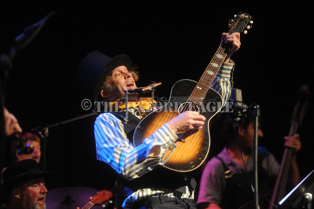 """Jimbo Mathus' """"Mosquitoville"""" is performed at The Lyric during Thacker Mountain Radio in Oxford, Miss. on Thursday, June 17 2010."""