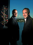 The Founders of Navigenics - Dietrich Stephan, left, and David Agus, right, founders of Navigenics.