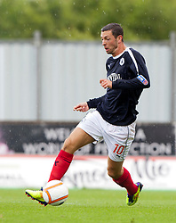 Falkirk's Andy Haworth..Falkirk 3 v 0 Stirling Albion, Ramsdens Cup..© Michael Schofield.