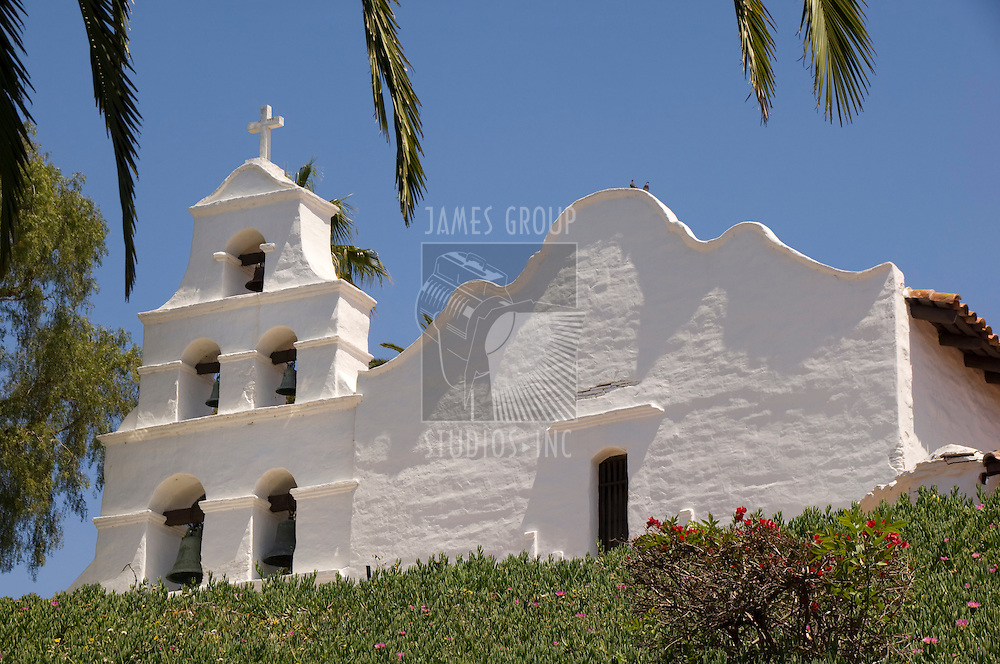 Mission Basilica San Diego de Alcala in Mission Valley, San Diego, California