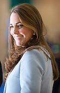 19-1-2015 - LONDON  The Duchess of Cambridge , catherine  Kate visits Kensington Aldridge Academy in Londen . COPYRIGHT ROBIN UTRECHT